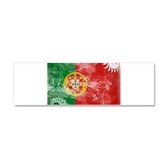 Portugal Flag Car Magnet 10 x 3