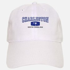 Charleston South Carolina, SC, Palmetto Flag Baseball Baseball Cap