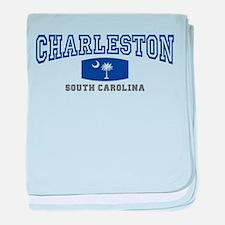 Charleston South Carolina, SC, Palmetto Flag baby