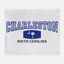 Charleston South Carolina, SC, Palmetto Flag Stad