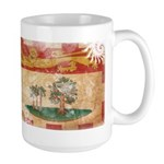 Prince Edward Islands Flag Large Mug