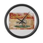 Prince Edward Islands Flag Large Wall Clock