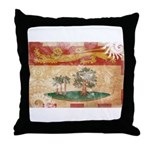 Prince Edward Islands Flag Throw Pillow