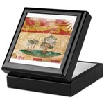 Prince Edward Islands Flag Keepsake Box
