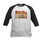 Prince Edward Islands Flag Kids Baseball Jersey