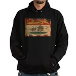 Prince Edward Islands Flag Hoodie (dark)