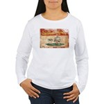 Prince Edward Islands Flag Women's Long Sleeve T-S