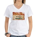 Prince Edward Islands Flag Women's V-Neck T-Shirt