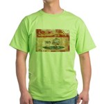 Prince Edward Islands Flag Green T-Shirt