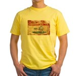 Prince Edward Islands Flag Yellow T-Shirt