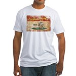 Prince Edward Islands Flag Fitted T-Shirt