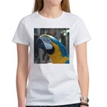 Blue and Gold Macaw Women's T-Shirt