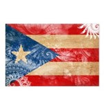 Puerto Rico Flag Postcards (Package of 8)