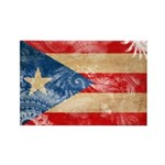 Puerto Rico Flag Rectangle Magnet (10 pack)