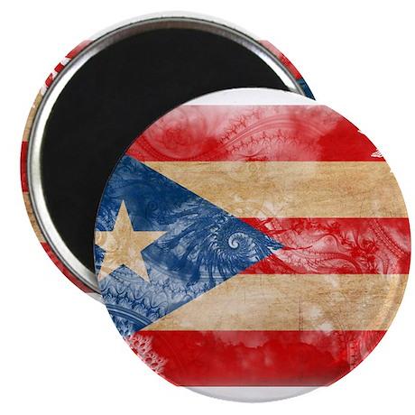 "Puerto Rico Flag 2.25"" Magnet (10 pack)"