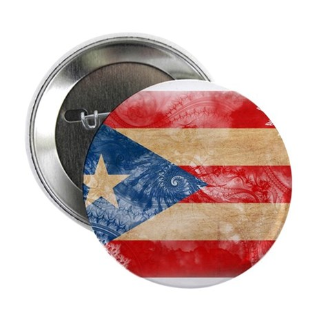 """Puerto Rico Flag 2.25"""" Button (100 pack)"""