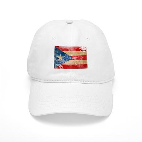 Puerto Rico Flag Cap
