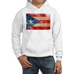 Puerto Rico Flag Hooded Sweatshirt