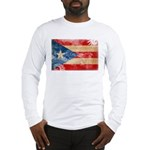 Puerto Rico Flag Long Sleeve T-Shirt