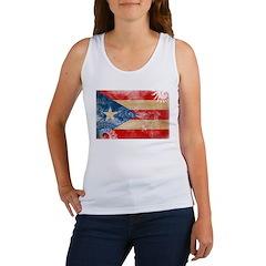 Puerto Rico Flag Women's Tank Top