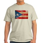 Puerto Rico Flag Light T-Shirt