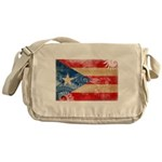 Puerto Rico Flag Messenger Bag