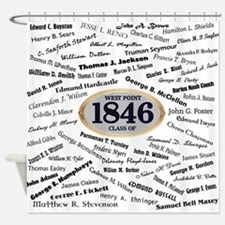 West Point Graduates of 1846 Shower Curtain