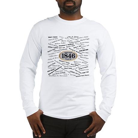 West Point Graduates of 1846 Long Sleeve T-Shirt