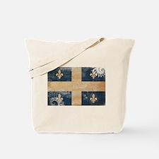 Quebec Flag Tote Bag