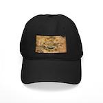 Rhode Island Flag Black Cap