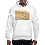 Rhode Island Flag Hooded Sweatshirt