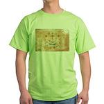 Rhode Island Flag Green T-Shirt