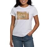 Rhode Island Flag Women's T-Shirt