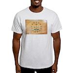 Rhode Island Flag Light T-Shirt
