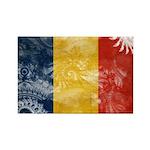 Romania Flag Rectangle Magnet (10 pack)