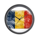Romania Flag Wall Clock
