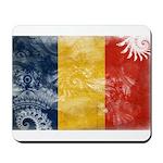 Romania Flag Mousepad
