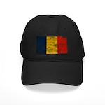 Romania Flag Black Cap