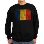 Romania Flag Sweatshirt (dark)