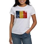Romania Flag Women's T-Shirt