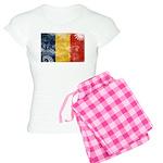 Romania Flag Women's Light Pajamas