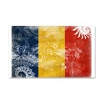 Romania Flag Car Magnet 20 x 12