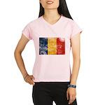 Romania Flag Performance Dry T-Shirt