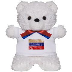 Russia Flag Teddy Bear