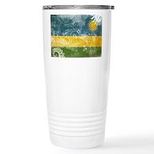 Rwanda Flag Travel Mug