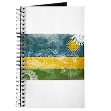 Rwanda Flag Journal