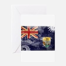 Saint Helena Flag Greeting Card