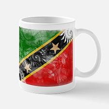 Saint Kitts Nevis Flag Mug