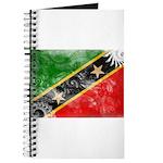 Saint Kitts Nevis Flag Journal