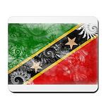 Saint Kitts Nevis Flag Mousepad